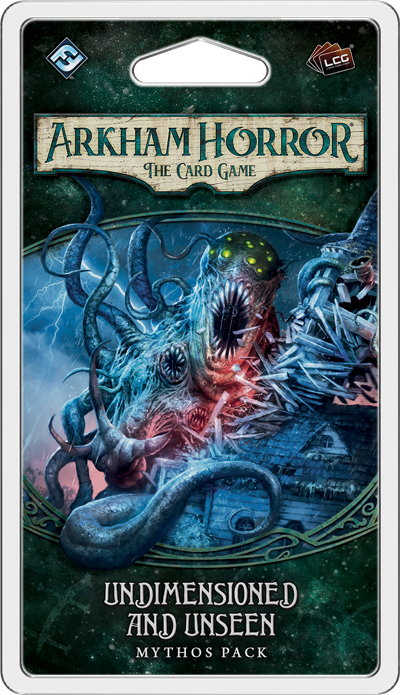 Arkham Horror - Undimensioned and unseen mythos pack