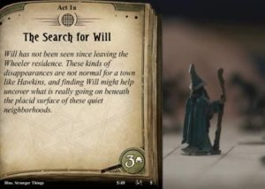 Stranger things fan created content for arkham horror the card game