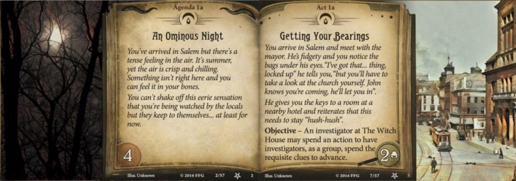 Blood spilled in Salem fan created content for arkham horror lcg
